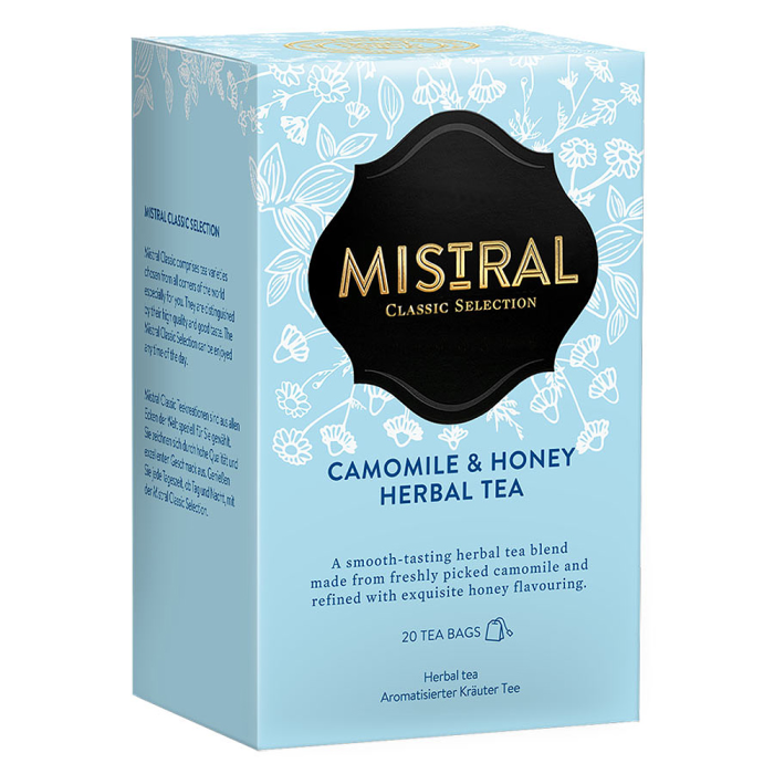 Čaj Selection Mistral CAMOMILE & HONEY ( Herbal Tea) 30g