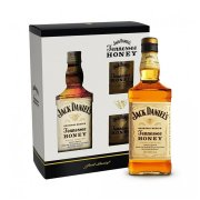 Jack Daniels HONEY 35% 0,7l + 2x pohár